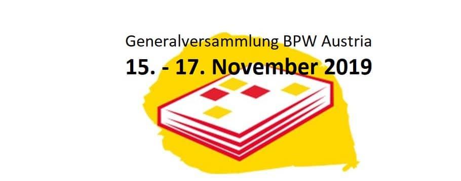 Generalversammlung BPW Austria